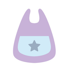bib baby tool that used to eat vector image