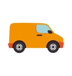 Cargo vandelivery design vector