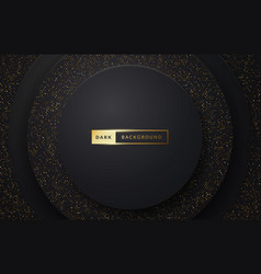 dark luxury premium background with sparkle effect vector image