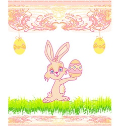 Doodle Easter Bunny vector