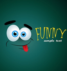 Funny background vector