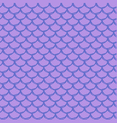 girl mermaid seamless pattern vector image
