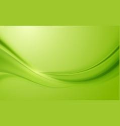 Green silk satin background smooth texture vector