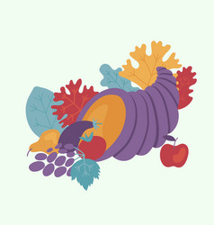 happy thanksgiving day design element vector image