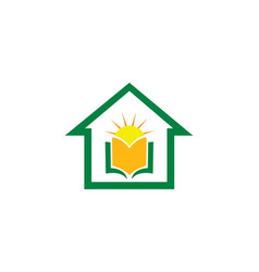 Logo for educational institute vector