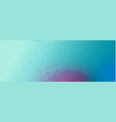 Polygon cyan purple backgroun vector