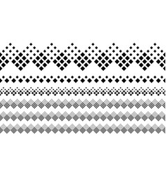 Repeating monochrome diagonal square pattern page vector