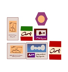 Various card vector