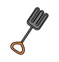 Isolated toy shovel damaged design vector image