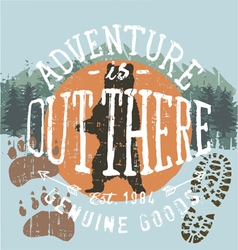 adventure outthere vector image