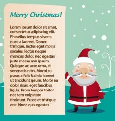 Santa's letter vector image vector image