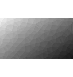 Abstract monochrome low poly background vector