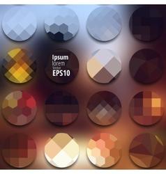 blur city light vector image