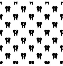first tooth icon simple style vector image