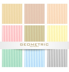 Herring bone patterns set vector