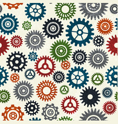 industrial seamless pattern vector image