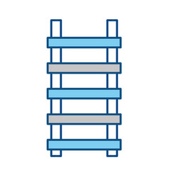 Ladder construction tool vector