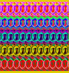 Strips of rings for decoration framework borders vector