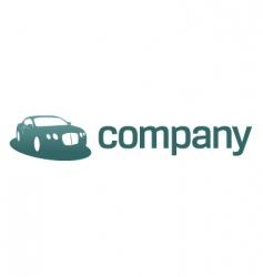 luxury car logo transport vector image vector image