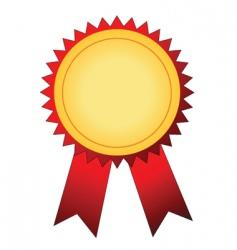 winner badge vector image