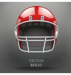 Background of American football helmet vector
