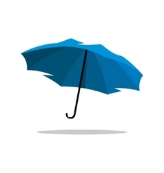 Blue Umbrella Cartoon vector image