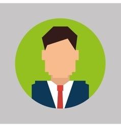 Businessmen profile icon design vector image