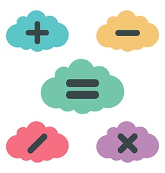 Clouds arithmetic vector