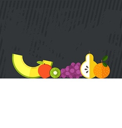 Fresh Fruits Concept vector