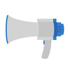 hand loud speaker design vector image