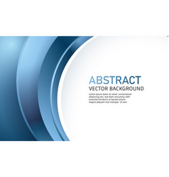 modern abstract background blue vector image