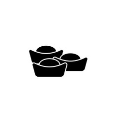 new year china lunar sweets icon can be used vector image