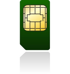 Phone card vector