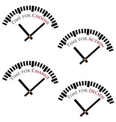 Set time concepts vector
