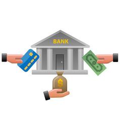 Bank earnings vector