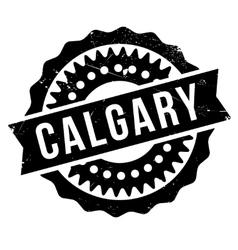 Calgary stamp rubber grunge vector