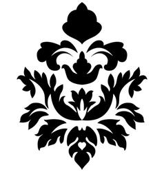 Damask Emblem vector image