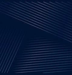 dark blue background with geometric lines vector image