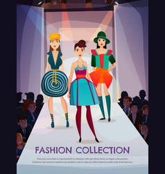 fashion collection vector image vector image