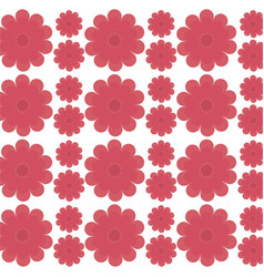 Flower decorative seamless pattern design vector