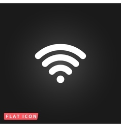 Free wi fi Icon vector image