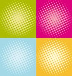 halftone-dots vector image