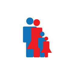 Icon Build Family vector image