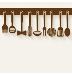 Kitchen Utensil Set vector image