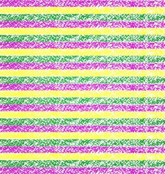Mardi Gras pastel crayon striped background vector