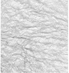 Silver crumpled background vector