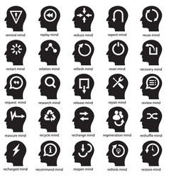 mind development concept vector image