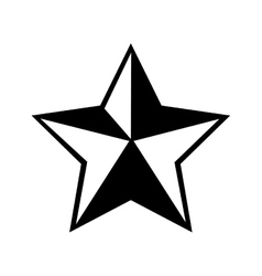 star sheriff cowboy icon graphic vector image