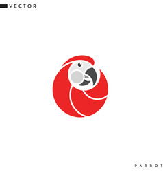 Abstract parrot vector