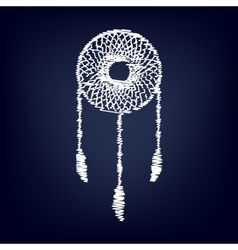 Dream catcher sign vector image